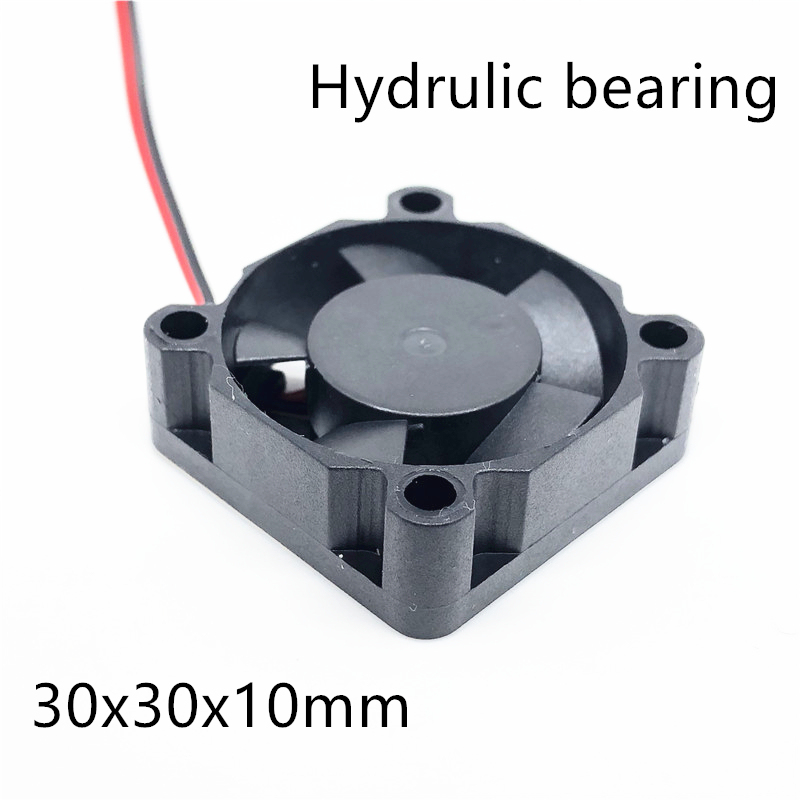 NEW 3d printer <font><b>fan</b></font> 3010 <font><b>30MM</b></font> 30*30*10MM 3cm Graphics card <font><b>fan</b></font> <font><b>Cooling</b></font> <font><b>fan</b></font> <font><b>5V</b></font> 12V 24V 0.1A with 2pin image
