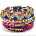 2015 handmade weave Multi wrap Ipanema Brazilian Style Bracelet friendship boho Bracelet woman free shipping