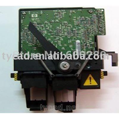 C2847-60071 C1633-60120 Carriage assembly for fit HP Designjet 1633 200 220 600 plotter parts used fit for designjet 10 20 30 ps carriage blet new printer plotter parts free shipping