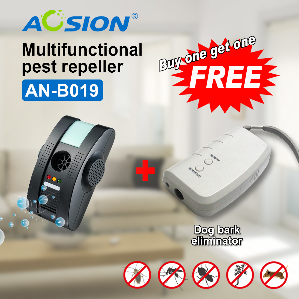 Buy Anion Free Shipping GS/ UL plug Home Pest Control Ultrasonic Electromagnetic Insects Repellent( Got dog repeller free)