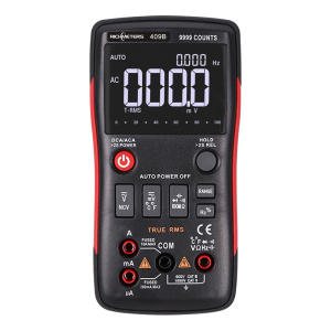 True-Rms Ammeter RM409B/RM408B AC/DC Counts Voltage Current-Ohm with Analog-Bar Graph