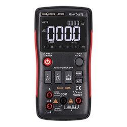 Botón multímetro Digital RM409B/RM408B True-RMS 9999/8000 cuentas con gráfico de barras analógica amperímetro de voltaje CA/CC corriente Ohm Auto