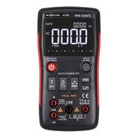 Rm409b/rm408b true rms multímetro digital botão 9999/8000 contagens com gráfico de barras analógico ac/dc tensão amperímetro corrente ohm automático|Multímetros| |  -