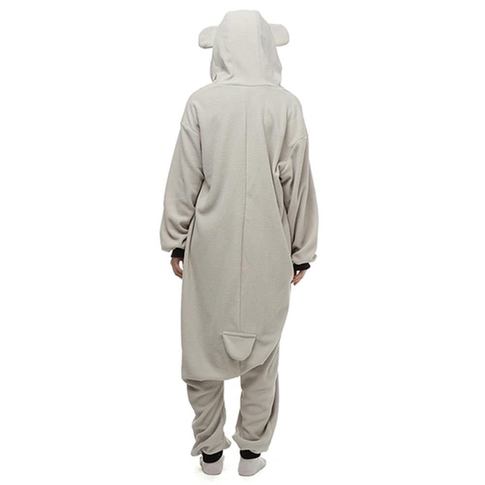 grey koala cosplay pajamas2