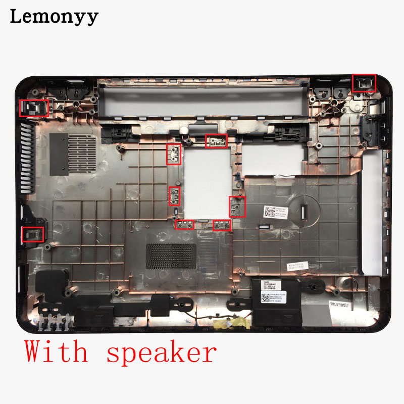 NEW Bottom Base Cover Bottom Case for Dell Inspiron N5110 15R PN: 005T5 With speaker/Without speaker image