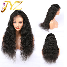 JYZ Loose Deep Wave Hair 360 Lace Frontal Wig With Baby 100% Human Wigs For Black Women