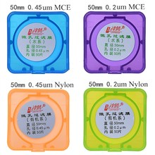 Microporous Filter Membrane Nylon Diameter 47mm/ 50mm/ 60mm 0.45um/0.22um MCE Micro JIN TENG BRAND 50pcs/pk