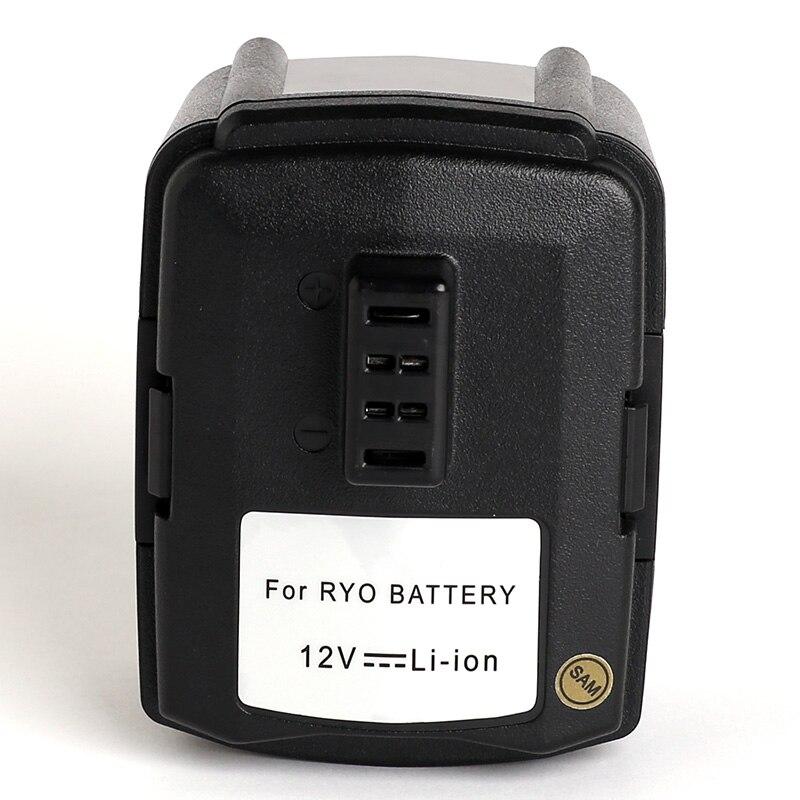 For Ryobi 12V 3000mAh power tool battery 130503001,130503005,BPL-1220,CB120L,HJP001,HJP001K,HJP002 HP612K JG001 LSD-1201PB