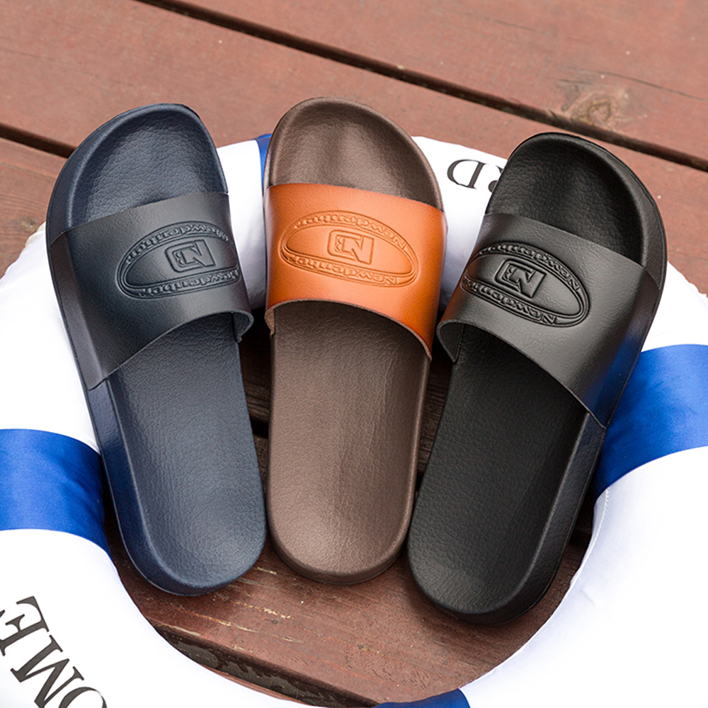 Brand Men Slippers Bathroom Shoes Unisex Outdoor Casual Shoes Non-slip Slides Man Footwear Lightweight Soft Flip Flops Men Shoes