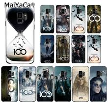MaiYaCa Heda Lexa The 100 TV Show Cute Phone Case for Samsung Galaxy S9 plus S7 edge S6 S10Plus S10lite S10E S8 plus(China)