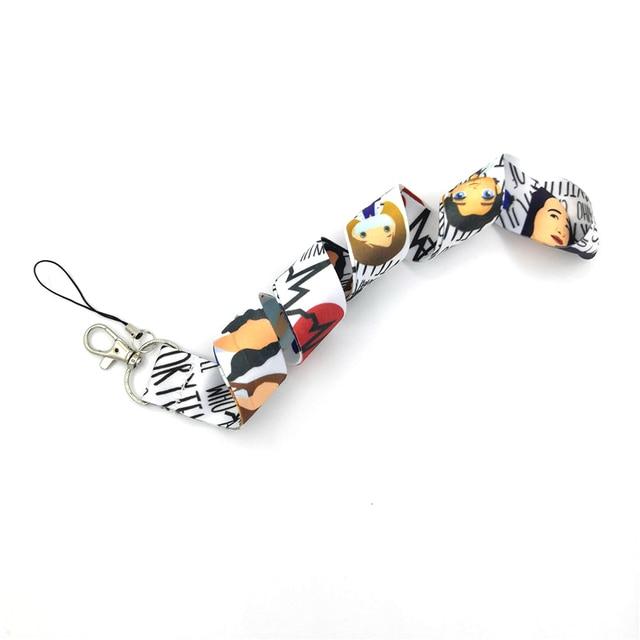 Брелок для ключей regooly re156 с анатомической шеей ожерелье