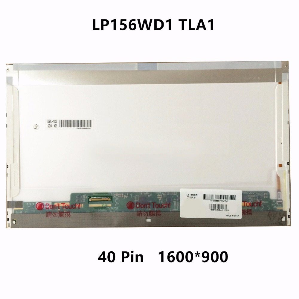 15.6''LCD LED Screen Display Panel Matrix Replacement For Dell Alienware M15X WSXGA HD+MT6KG 0MT6KG WSXGA LP156WD1 TLA1 1600X900 free shipping new 13 3 lcd led screen display slim panel matrix lp133wh2 tla2 ltn133at16 for dell latitude e6320 e6330 wxga hd