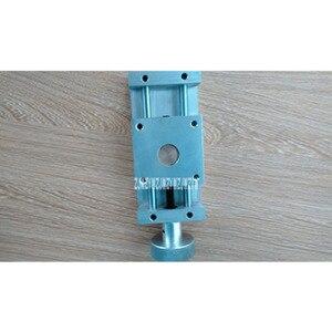 Diapositiva cruzada de precisión 55 tipo Mesa Deslizante CNC mesa de trabajo de mano bola tornillo carro XY eje lineal módulo carrera 50MM Venta caliente