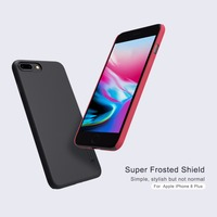 10pcs Lot Wholesale NILLKIN Super Frosted Shield Case For IPhone 8 Plus 5 5 Inch PC
