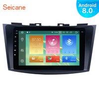 Seicane Android 8,0 8 Car радио для 2011 2012 2013 Suzuki Swift gps мультимедийный плеер с Зеркало Ссылка Сенсорный экран DVR OBD2