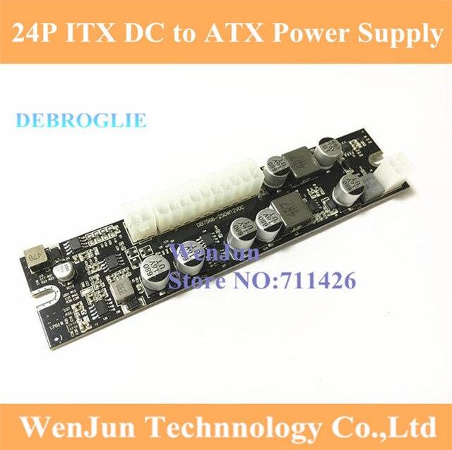 Realan DC DC ATX PSU 12V 250W Pico ATX Switch Pico PSU 24pin MINI ...