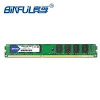 Binful DDR3 4GB 1066MHz PC3 8500 Memory Ram Memoria Ram For Desktop PC Non ECC System