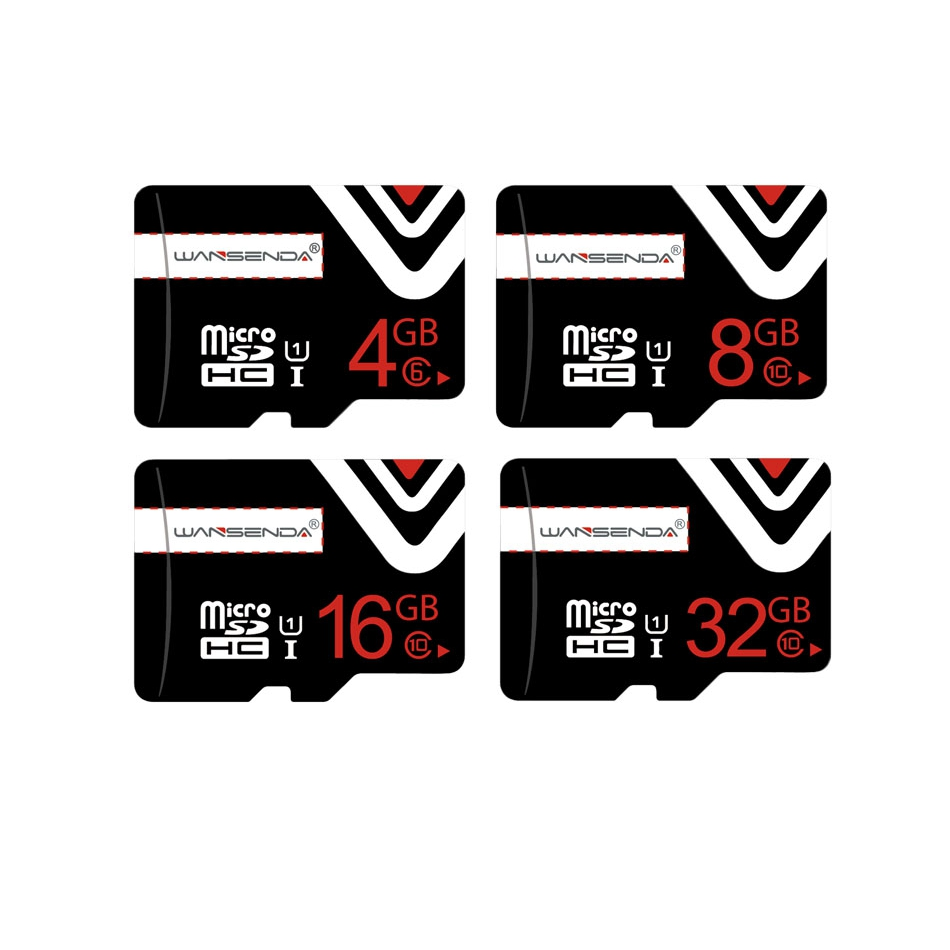 Upgrade Wansenda Memory Card 8GB 16GB 32GB Micro SD Card Class 10 High Quality Class 6