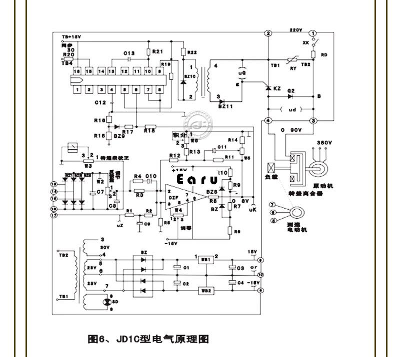 90 Ac Electromagnetic Speed Governor