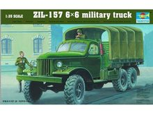 TRUMPETER 01001  1/35 Scale   ZIL-157 6X6 Military Truck