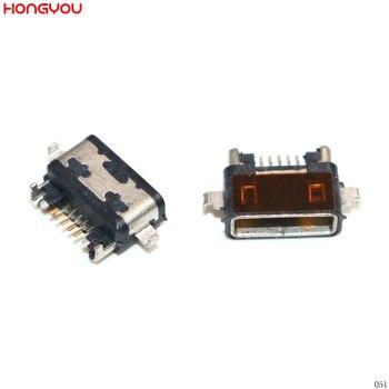 10 unids/lote Micro Usb puerto de carga enchufe conector de carga para...
