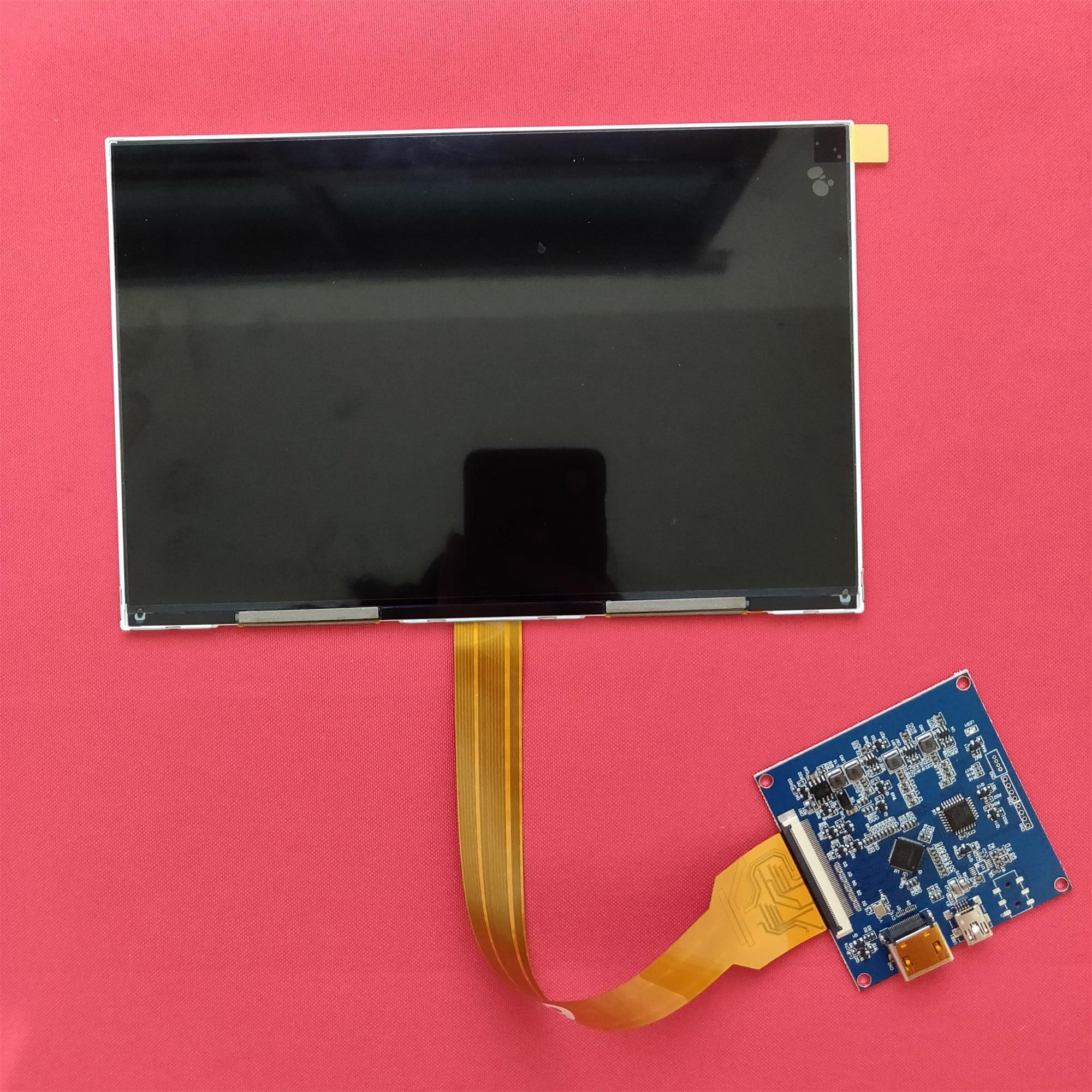8.9 pouces 2560*1600 2k 1440p IPS lcd moniteur d'affichage avec HDMI-MIPI carte pilote 50hz pour bricolage DLP 3d imprimante Raspberry PI 3 PI 4b - 2