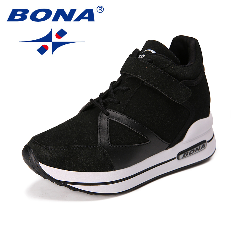 BOAN New Classics Style Women Walking Shoes Suede Women Athletic Shoes Outdoor Jogging Shoes Lace Up