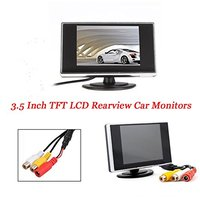 3 5 Inch TFT LCD Car Reverse Monitor Car DVD Monitor With Pocket Sized HD Car