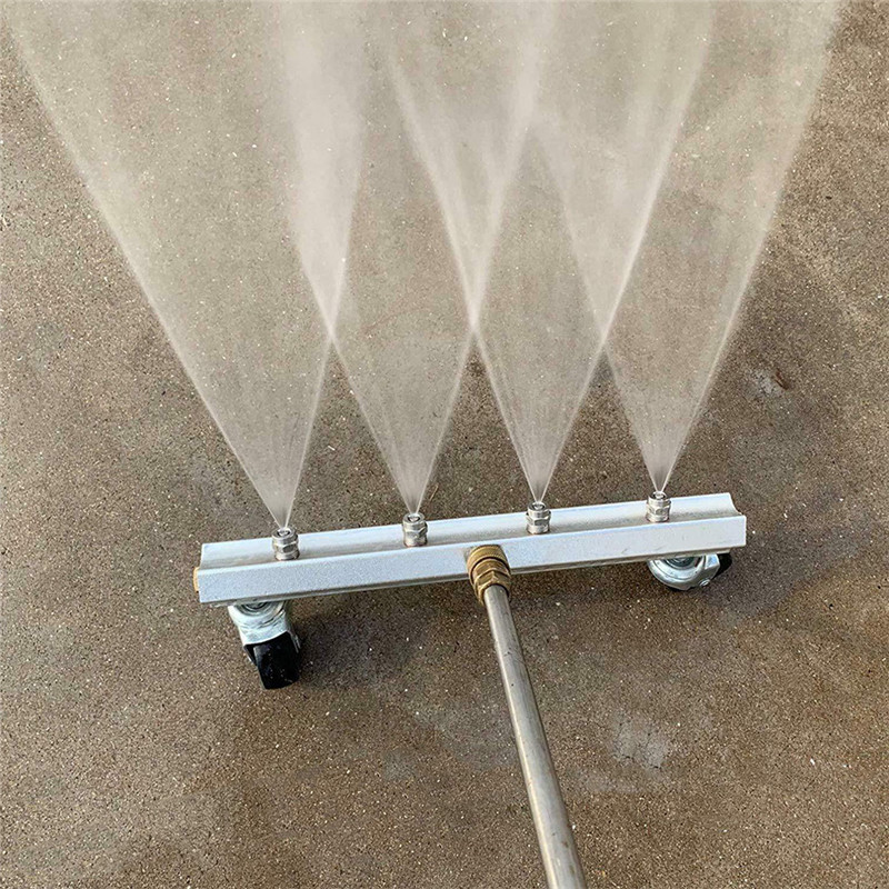 13 inch Cleaner Under Car Pressure Washer Undercarriage Wash 4000 PSI 4pcs Nozzle 1 4inch Male