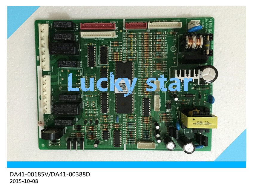 100% new for Samsung refrigerator pc board Computer board DA41-00185V/DA41-00388D board good working 95% new for samsung refrigerator computer board pc board da41 00399a wzb070122 71920342b good working