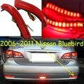 Car-styling, Sylphy Romper la luz, 2006 ~ 2015, led, Envío Gratis! 2 unids, luz trasera Sylphy;-coche cubre, luz trasera Sylphy, Bluebird, Lannia