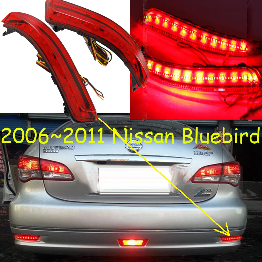 car-styling,Sylphy Breaking light,2006~2015,led,Free ship!2pcs,Sylphy rear light;car-covers,Sylphy tail light,Bluebird,Lannia sylphy daytime light 2015 2017 free ship led car styling 2ps set sylphy fog light chrome car covers lannia