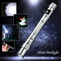 Enjoydeal CREE LED Mini Penlight 1000 Lumens Lamp Clip Flashlight Torch Outdoor camping Pocket lights For 2xAAA silver gray