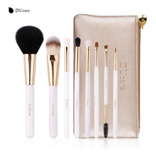 DUcare Brand Makeup Brushes 8PCS Foundation Brush Blusher Powder Eyeshadow Blending Eyebrow Eyeliner Lip Brush Pincel Maquiagem makeup set pincel maquiagem cosmetics maquillaje eyeshadow eyebbrow eyeliner blending lip powder foundation cosmetic brushes