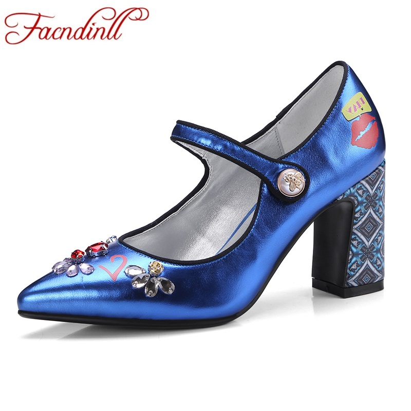 FACNDINLL new fashion women pumps shoes sexy square high heels pointed toe spring summer shoes woman dress party wedding pumps newest flock blade heels shoes 2018 pointed toe slip on women platform pumps sexy metal heels wedding party dress shoes
