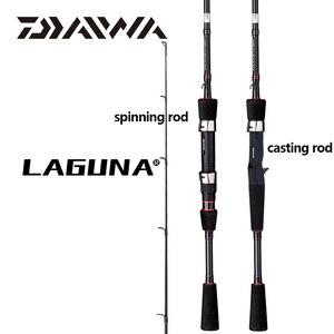 Image 1 - DAIWA canne à pêche au leurre Spinning LAGUNA Baitcasting, en fibre de carbone, M/MH Power, 1.68/1.8/1.98/2.1M, Guides à pêche au leurre, nouveauté