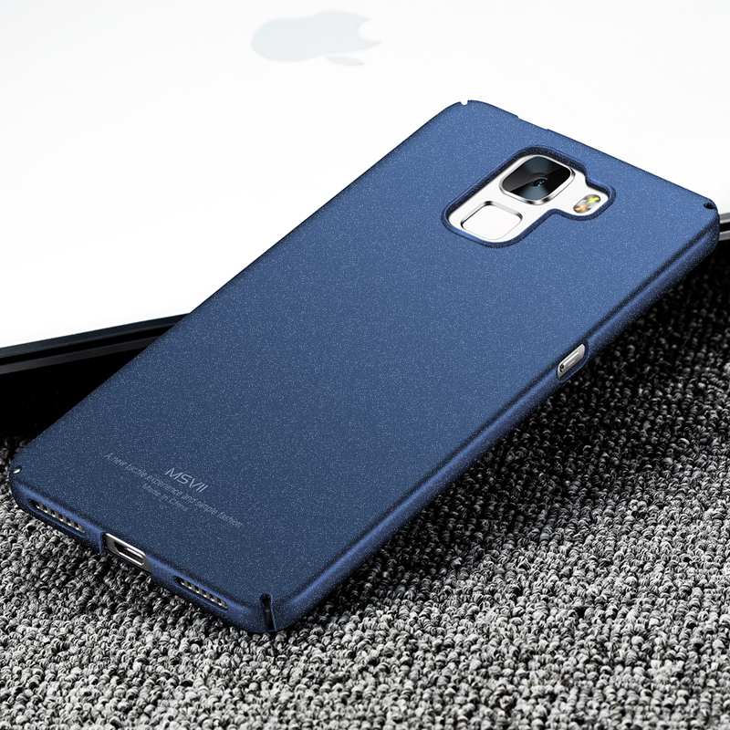 Huawei honor 7 case cubierta huawei honor 7 msvii super suave delgada y duro mat