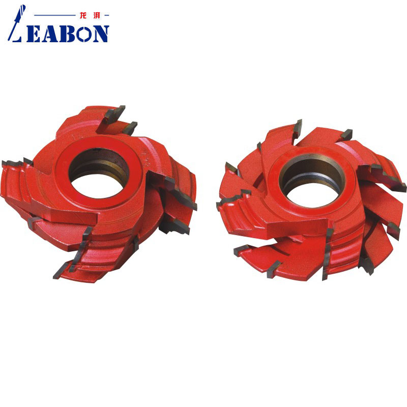 LEABON Frame Cutter Head  For Wood Cutting TCT Planer Cutter One Set with 6 Pieces planer head planer cutter headhead head - title=