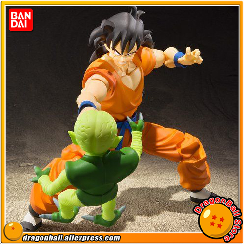 Japan Anime Dragon Ball Z Original BANDAI Tamashii Nations S.H. Figuarts / SHF Exclusive Action Figure - Yamcha japan anime lupin the 3rd original bandai tamashii nations shf s h figuarts toy action figure fujiko mine