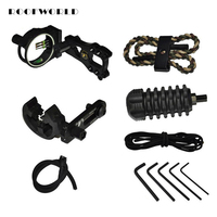 Archery Combo Bow Basic Accessory Tools Sight Kits Arrow Rest Stabilizer Compound Hunting Bow Accessories