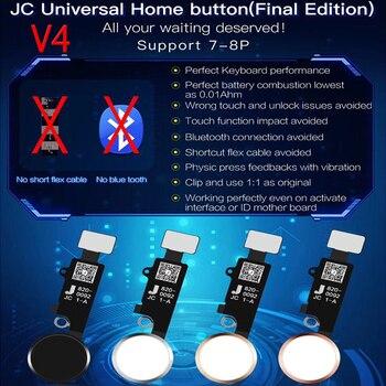 JC Кнопка Домой V4 Универсальный Ремонт функция возврата (нет версии BLUETOOTH) для iPhone 7 7P 8 8P