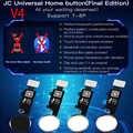 JC botón de inicio V4 función de devolución de reparación Universal (sin versión BLUETOOTH) para iPhone 7 7P 8 8P