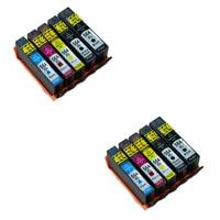 LuoCai cartuchos de tinta compatíveis Para HP 564 XL Para HP Photosmart Officejet 4610 4620 5510 5520 6510 6515 6520 7510 Impressora de B109a