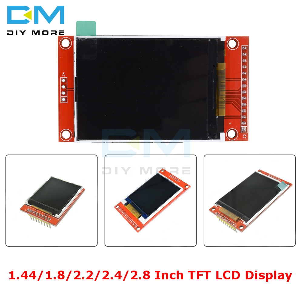 1.44/1.8/2.2/2.4/2.8 pouces écran couleur TFT Module d'affichage LCD 128*128 240*320 Micro SD ST7735S ILI9341 ILI9225 avec toucher