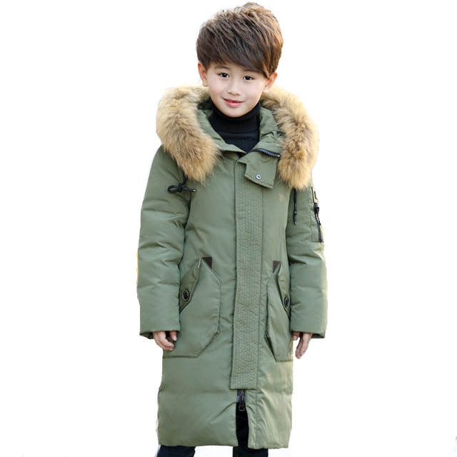 8ed333beb26d Online Shop -30 Degree Thick Warm Down Jackets Winter Boys And Girls ...