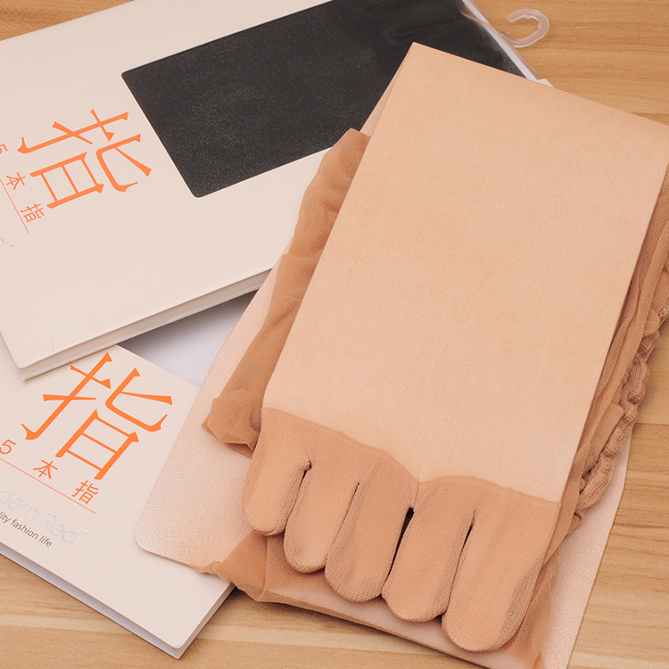 export to Janpan Ultra-thin 2016 15d Five toe abdomen drawing butt-lifting five fingers stockings pantyhose
