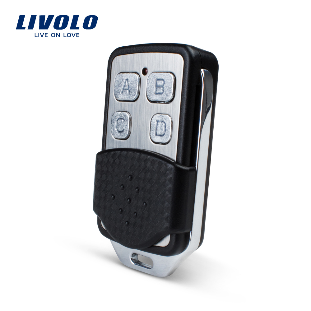 Free Shipping Livolo Wall Light Switch Accessaries RF Mini Remote Controller Wall Light Remote Switch Controller