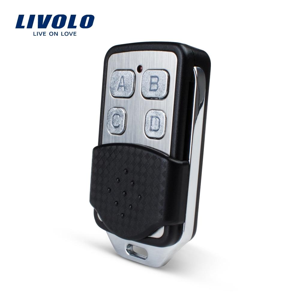Livolo Wall Light Switch Accessaries, RF Mini Remote Controller, Wall Light Remote Switch Controller VL-RMT-02