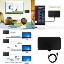 Amplifie-Antenna Cable-Signal TV High-Signal-Capture 50-Mile Digital Range Ultra-Thin