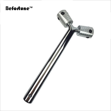 Befortune Massage Mini Silver Y Shape Germanium Face Lift Roller Massager Beauty Roller BF4011